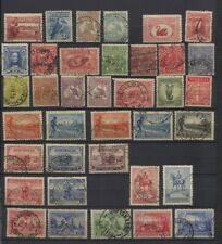 Australia 1927 - 1937 Page of Used, Sets, Part Sets Nice Postmarks CV $246.60