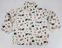 Vintage OshKosh B'Gosh Baby Boys Long Sleeve Turtle Neck Shirt Snow Patrol 2t