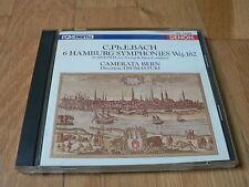 Camerata Bern - C.P.E Bach : 6 Hamburg Symphonies Wq.182 - Furi - CD Denon Japan