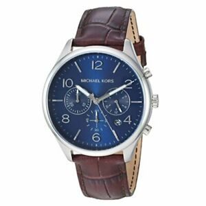 Michael Kors Men's Merrick 50 Metres Chronograph Watch MK8636 RRP £225.00