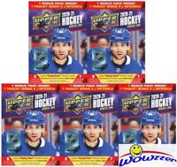 (5)2020/21 Upper Deck Series 2 Hockey HUGE Factory Sealed Blaster Box-YOUNG GUNS