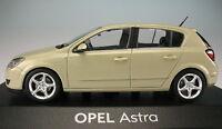 MINICHAMPS - OPEL Astra H 5-türig - beige -- 1:43 -- NEU in OVP -- Modellauto