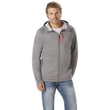 Men's Outdoor Spirit Big/Tall Lightweight Hooded Jacket Charcoal 4XL #NKXDZ-1226