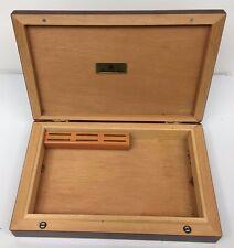 "MASTRO DE PAJA -  Cigar Cedar  Humidor Cigar Box made in Italy 11.5""x7.5"""