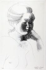 Emilio GRECO - Dormiente - 1969 - acquaforte originale firmata -