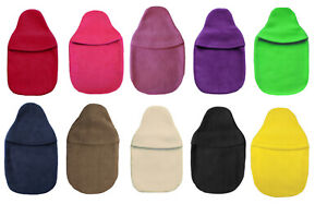 British Made Small 1.0L Fleece Hot Water Bottle Cover