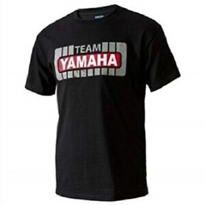 YAMAHA TEAM TEE BLACK MX MOTORCYCLE TEAM YAMAHA LOGO T-SHIRT ALL SIZES SALE!