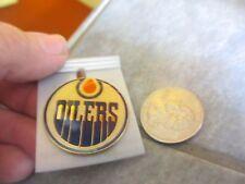 "Vintage NHL Hockey EDMONTON "" OILERS ""  Pin ~ FREE SHIPPING!  f"