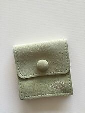 Authentic Van Cleef & Arpels Jewelry Necklace Travel Suede Pouch