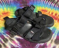 Men's Vintage 90's Polo Sport Black Sandals Size 9 *Pre-owned*