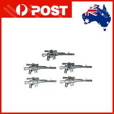 CUSTOM Bricks Sniper RIFLES 5PCS For Toy blocks Minifigures A16