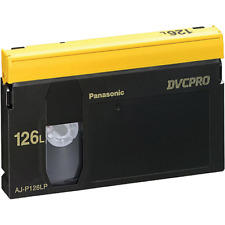 Panasonic AJ-P126L DVCPRO 126-Minute Video Cassette Tape (Large)