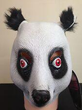 Kids Panda Bear CRO Mask Movie Quality  Zoo Animal Fancy Dress Party