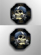 Biker Sticker Motorcycle Motorbike Vintage Custom Bobber Chopper Decal #a0020