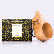 200ml Kuksa Wood Cup Portable Drinking Tea Milk Watter Mug Wooden Coffee Cups
