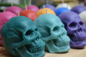 Skull candle. Big skull candle - 100% vegetable wax.
