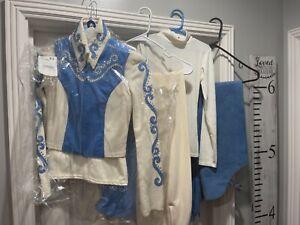 showmanship outfit westen girls show cloths lot