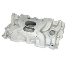 For Chevy 350 383 w/ High Rise Intake Manifold Small Block SBC Aluminum