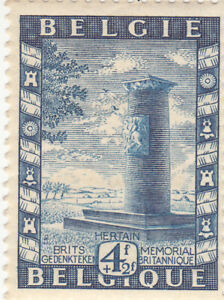 Belgium 1950. Charity Stamp. British Memorial. Sc# B479. MNH