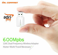 PEN DRIVE WI-FI WIRELESS 600 MBPS USB ANTENNA Dual Band 2.4 GHz 5 GHz
