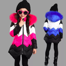 NEW STYLE Kids girls winter coat jacket Korean big virgin cotton jacket children