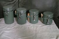 8 Pc. Jade Green Canister Set