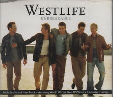 WESTLIFE Unbreakable (Single Remix)  3 TRACK CD NEW - NOT SEALED