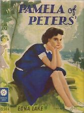 Vintage EDNA LAKE - PAMELA OF PETERS: A Story For Girls (HCDJ) Peerless Series