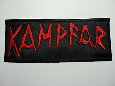 KAMPFAR  EMBROIDERED PATCH