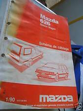 Mazda 626 station wagon 1990 1991 : Schémas électriques
