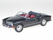 VW Karmann Ghia convertible 70 black diecast modelcar 155054031 Minichamps 1:18