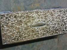 International Silver Co. Silverplate Jewelry Box heavy silver plated vintage
