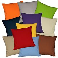 Aw01t Bright Red 12oz Thick Cotton 3D Box Sofa Seat Cushion Cover Custom Size