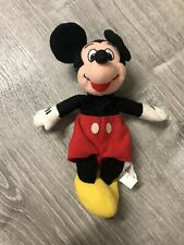 New listing Vintage Mickey Mouse small Stuffed animal toy Plush Doll Disney Store Exclusive