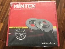 Drilled Grooved Front Brake Discs /& Mintex Pads Vauxhall Cascada All 2012