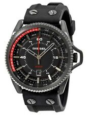 Diesel Watch * DZ1760 Rollcage Black Dial Black Silicone for Men COD PayPal