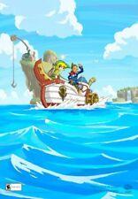 Club Nintendo The Legend of Zelda Phantom Hourglass Poster