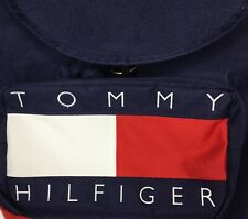Preowned Tommy Hilfiger Vintage Tommy Backpack 80's 90's Spellout Large Flag