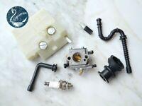 Carburetor For Walbro WT-194 STIHL MS260 026 024 MS240 Fuel Line Filter Carb Kit