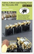 Taurus Models 1:32 Valves Lifters Timing Gear Mercedes DII D3233a Wingnut Wings