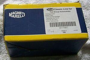 71770977 OE Magneti Marelli Alfa 159 Brera front brake pads NOS