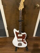 Squier by Fender VM Jazzmaster Guitar - Olympic White With Case