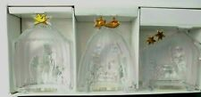 Mikasa Golden Stars 3 Piece Nativity Sculptures Wise Men Nativity Shepherds