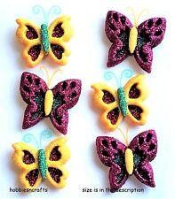 EK Success jolee's Boutique Pegatinas mariposa resina Mariposa Brillante Repite