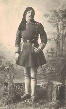 Greece,Man in Greek Military Uniform,Costume,c.1909