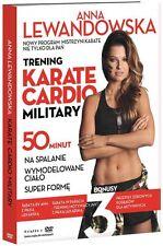 ANNA LEWANDOWSKA Trening  Karate Cardio Military  DVD POLISH Shipping Worldwide