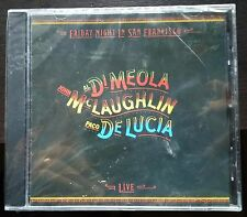 John McLaughlin-Al Di Meola-Paco De Lucía/Friday Night In San Francisco Cd Nuovo