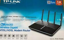 Tp-Link Archer VR2600 Wireless Gigabit VDSL/ADSL Modem & Router AC2600 Mu-Mimo