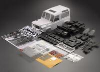 1/10 RC Defender D90 Hard Plastic Body Shell Kit W/ Interior DIY Version Crawler