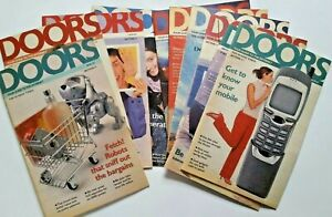 Early Guides To The Internet DOORS Bulk Lot Sunday Times Supliments